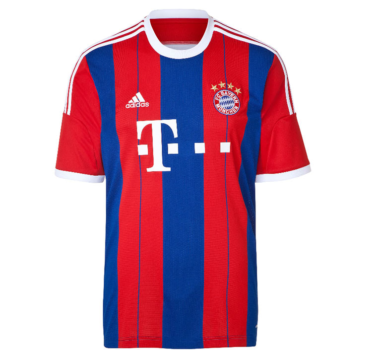 Alle Bundesliga-Trikots 2014/15 Bayern_Trikot_01