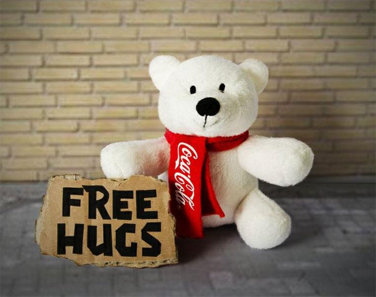 Coke lässt die Polarbären los! Ben