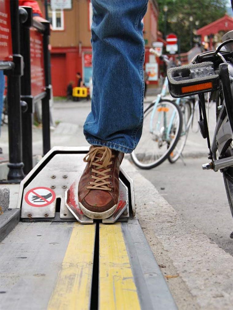 Der norwegische Fahrradlift Bicycle_lift_02