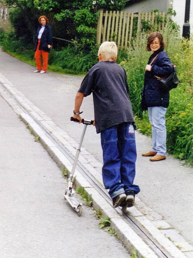 Der norwegische Fahrradlift Bicycle_lift_03