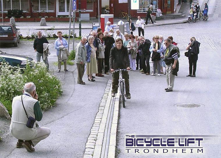 Der norwegische Fahrradlift Bicycle_lift_05