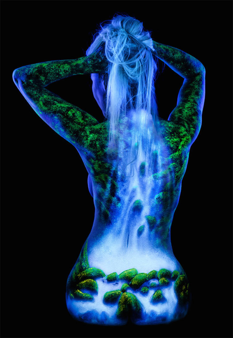 Schwarzlicht-Bodypaintings Blacklight_Bodyscapes_02