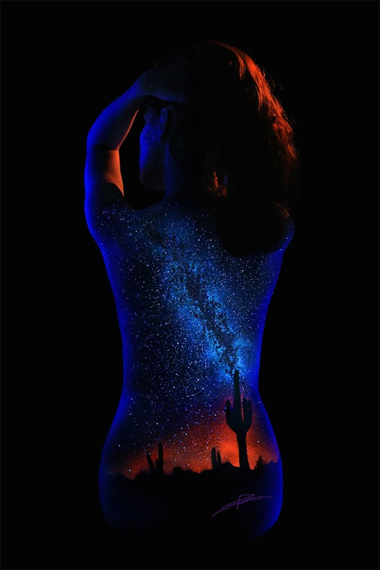 Schwarzlicht-Bodypaintings Blacklight_Bodyscapes_08