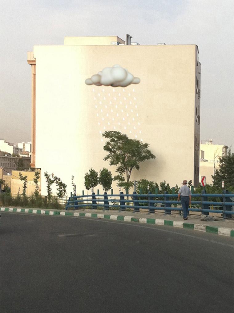 Perspektivische Murals in Teheran Blue_Sky_Painters_06