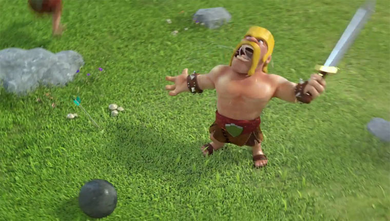 Clash of Clans Animation Clash-of-clans