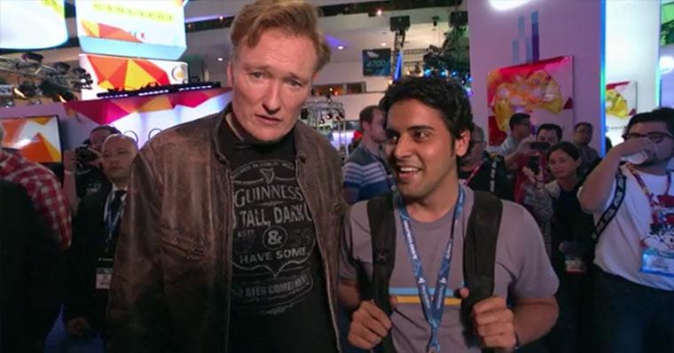 Conan besucht die E3 Conan_E3