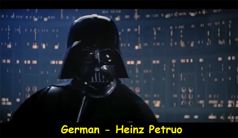 """I Am Your Father"" in 20 Sprachen Darth_Vader_20_languages"