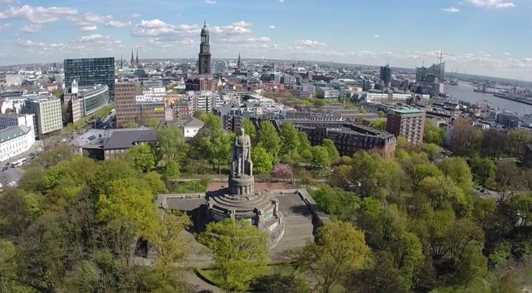 Hamburg von Oben FPV_Fun_Hamburg