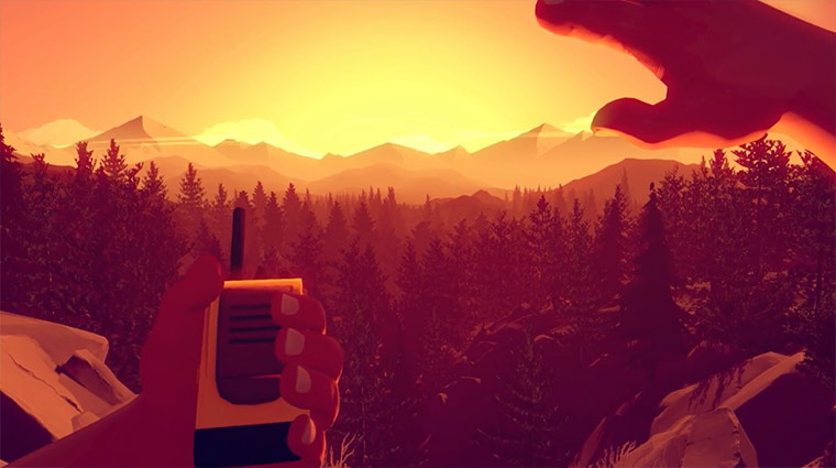 Interessanter Spieletitel: Firewatch