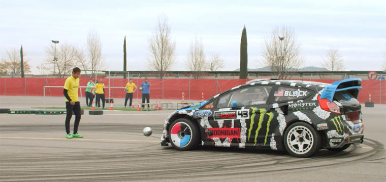 Ken Block vs. Neymar Jr. Footkhana