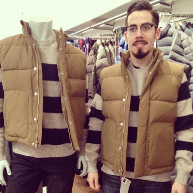 Wenn Männer beim Shoppen auf ihre Frauen warten GAPmannequinProject_05