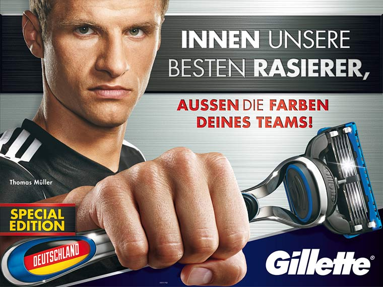Gillette Ländereditionen