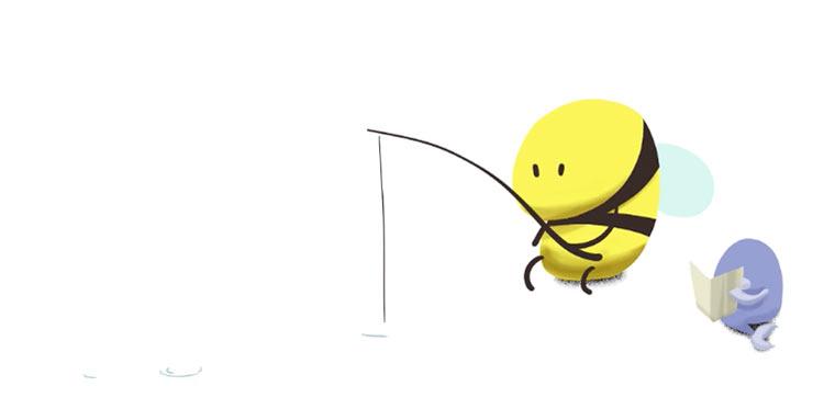 Günther, die verrückte Biene