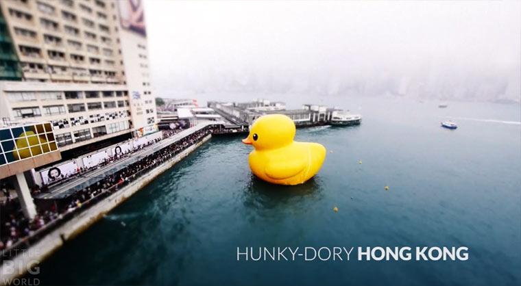 Tilt-Shift: Hunky Dory Hong Kong