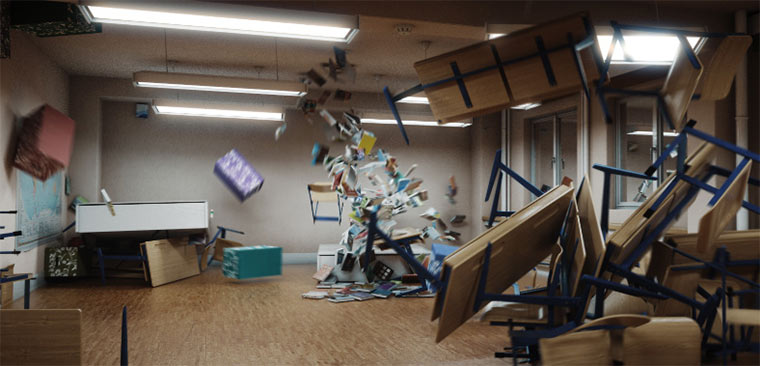 Das verrückte Klassenzimmer