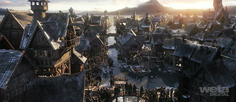 Hobbit: Making of Laketown Laketown