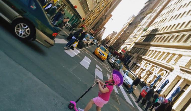 Momentaufnahmen von NYC-Straßen Living_Moments