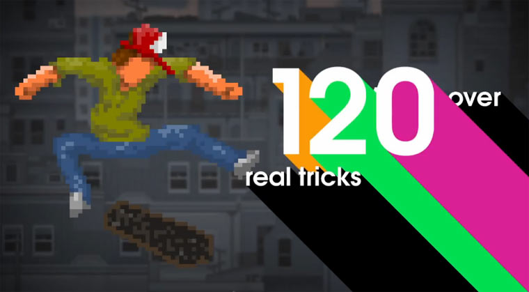 Pixel-Skateboarden mit OlliOlli OlliOlli