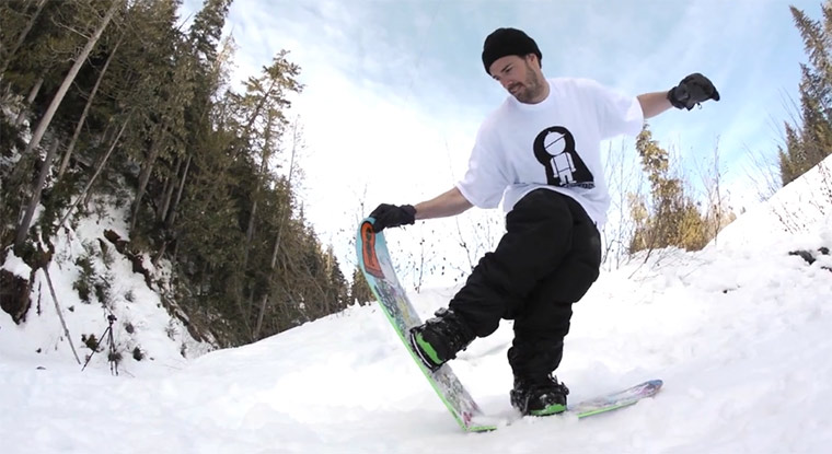 Snowboarding: Simon Chamberlain On-Our-Grind