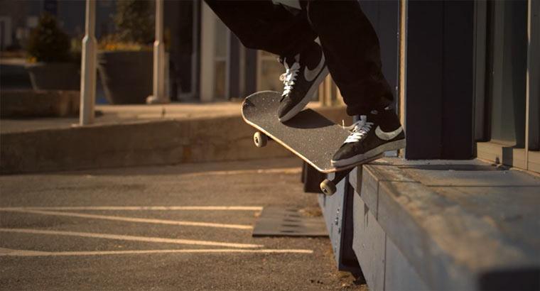 Mal wieder Slowmotion-Skateboarding