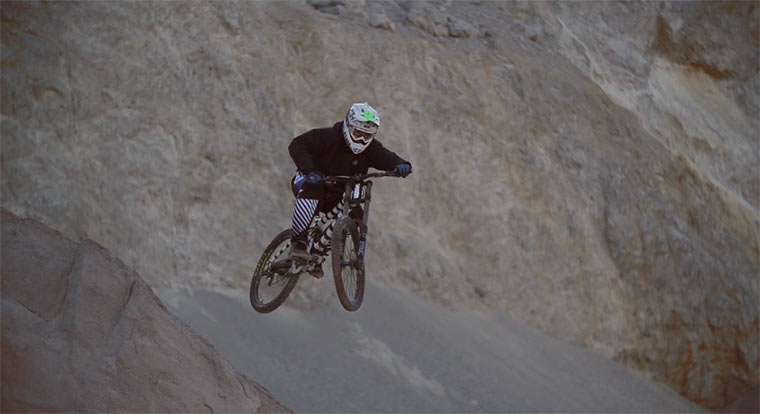Steinbruch-Mountainbiking