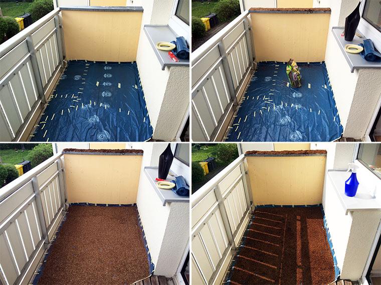 rasenmagie mein balkon wird zur wiese macht mit bei. Black Bedroom Furniture Sets. Home Design Ideas