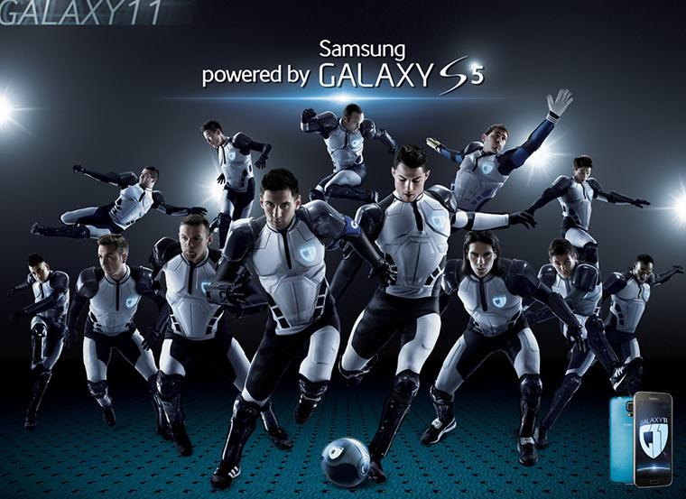 Galaxy 11 vs. Hurakan - erste Halbzeit Samsung_GALAXY_XI_first-half_01