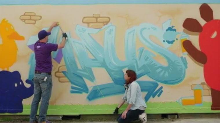 Sendung mit der Maus: Graffiti SmdM_Graffiti