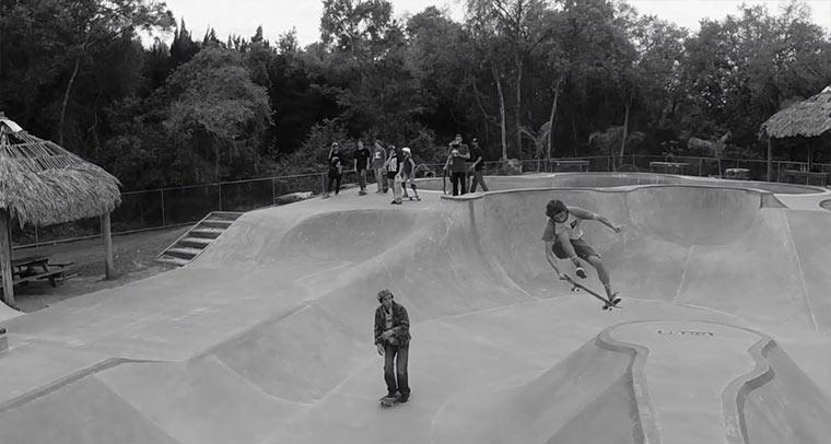 Skateboardpark-Drohnenaufnahmen Smyrna_Park_Drone