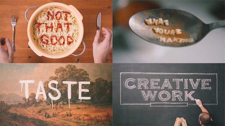 Kunstverständnis vs. künstlerische Fähigkeiten The-Gap_Typography