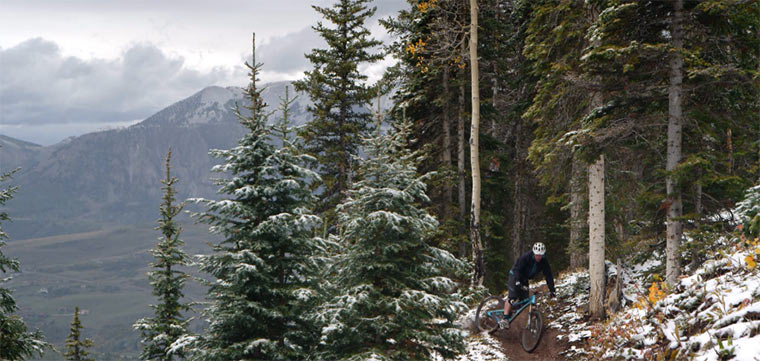 Mountainbiking in richtig schön
