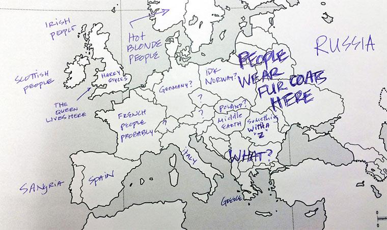 Wenn Amerikaner Europa beschriften USA_Europe_map_04