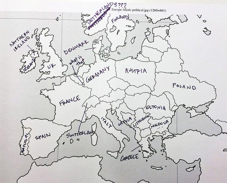 Wenn Amerikaner Europa beschriften USA_Europe_map_07