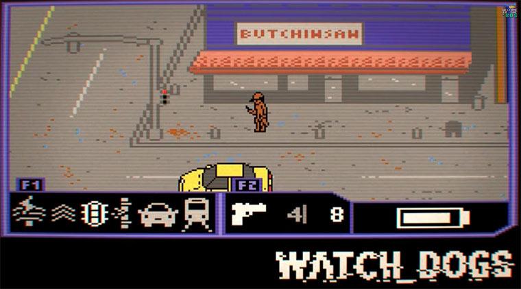 Watch Dogs auf dem C64