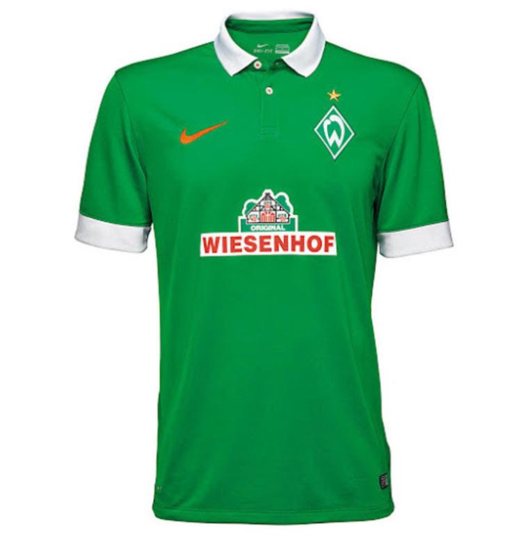 Alle Bundesliga-Trikots 2014/15 Werder_Trikot_01