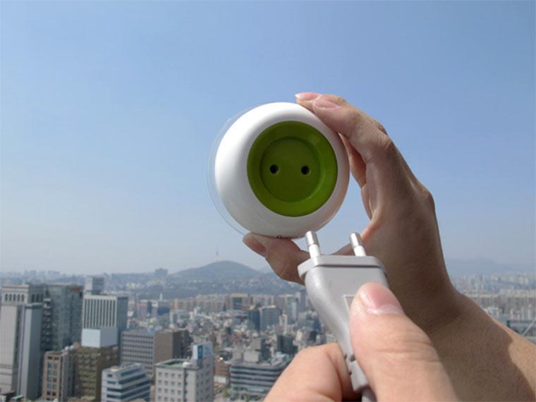 Solar-Steckdose für die Fensterscheibe Window_Socket_02