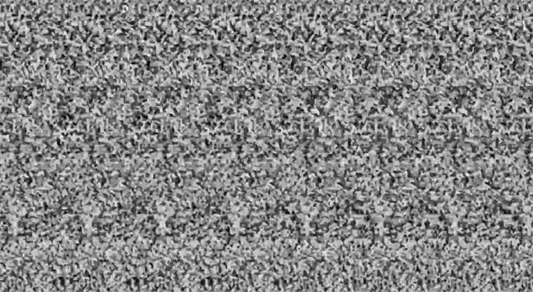 Optische Spielerei: Magic Eye Musikvideo Young_Rival_Black-Is-Good