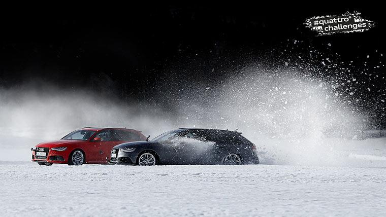 Audi #QuattroChallenge: Ice Track audi_quattro_challenges