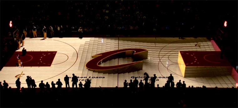 Basketball-Court 3D-Mapping
