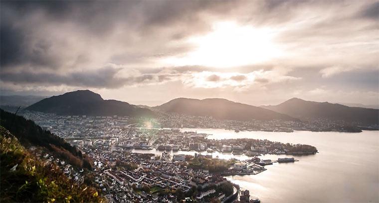 Timelapse: Bergen