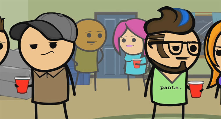 Cyanide & Happiness - Daydreaming daydreaming