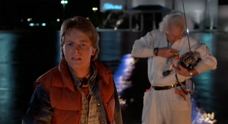 Back to the Future-Supercut doc_and_marty