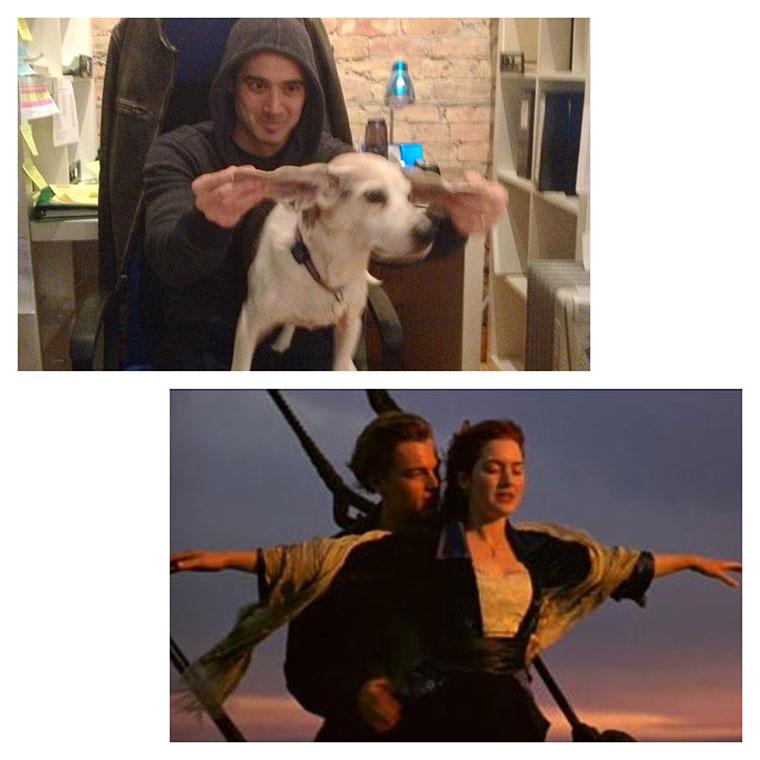 Filmszenen mit Hund nachgespielt filmszenenhund_08