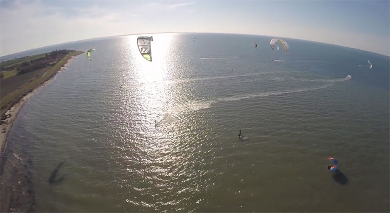 Kitesurfend den Frühling begrüßen firstdayofspring