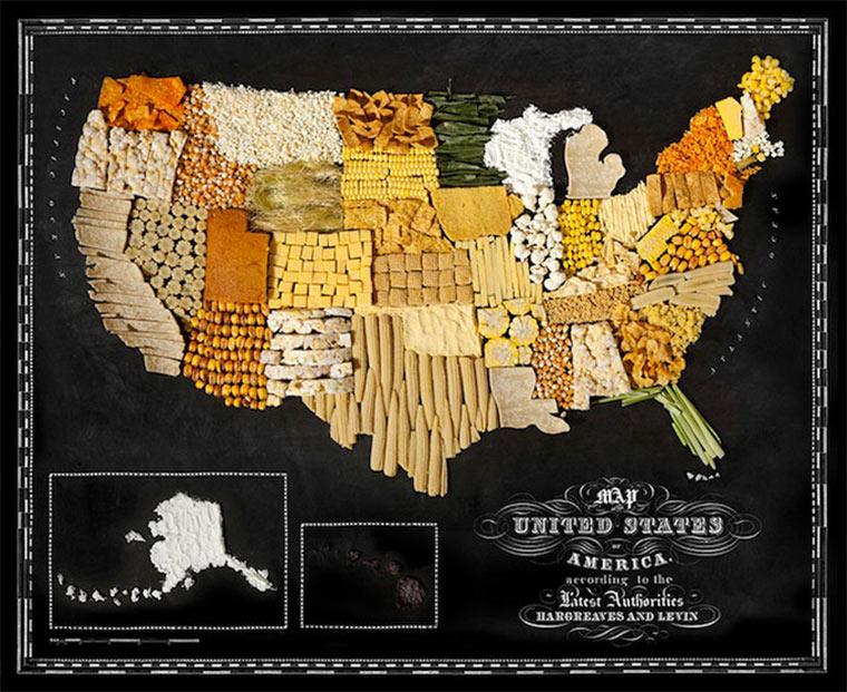 Landkarten aus Essen food_maps_02