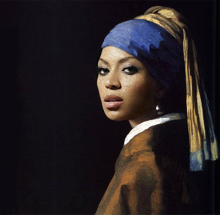 Jay-Z & Beyonce in klassischen Gemälden jayz-bayonce-art_01