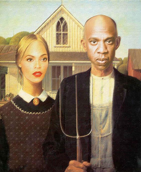 Jay-Z & Beyonce in klassischen Gemälden jayz-bayonce-art_02