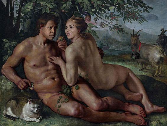 Jay-Z & Beyonce in klassischen Gemälden jayz-bayonce-art_03