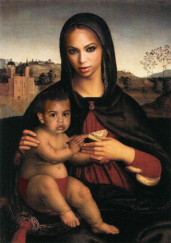 Jay-Z & Beyonce in klassischen Gemälden jayz-bayonce-art_06