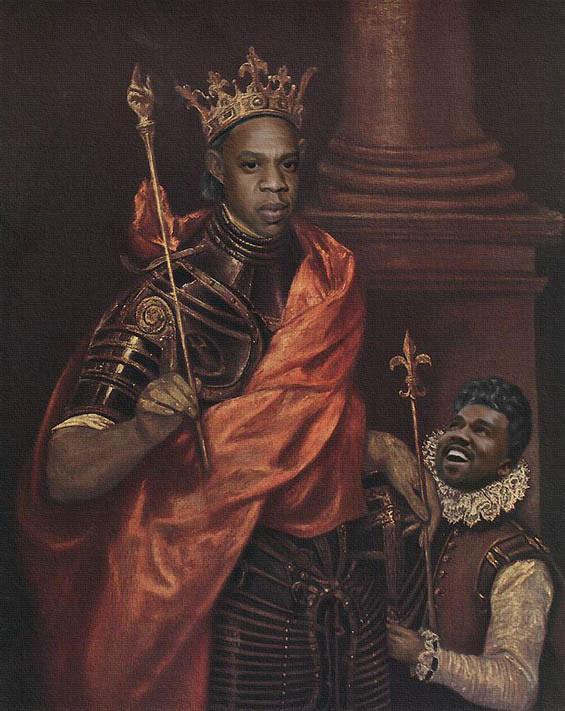 Jay-Z & Beyonce in klassischen Gemälden jayz-bayonce-art_07